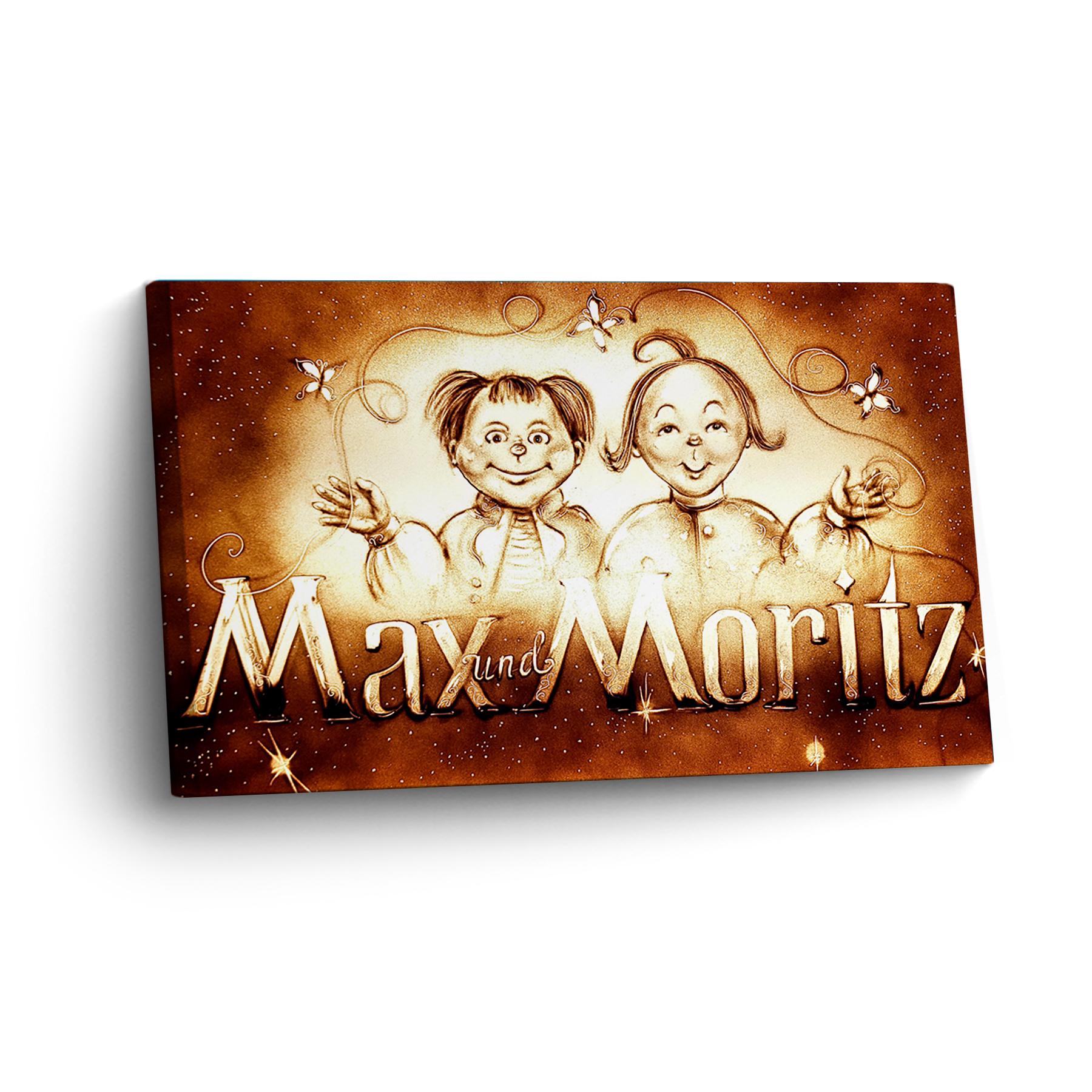 Max-Moritz Sandmalerei