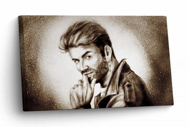 Sandkunst George Michael