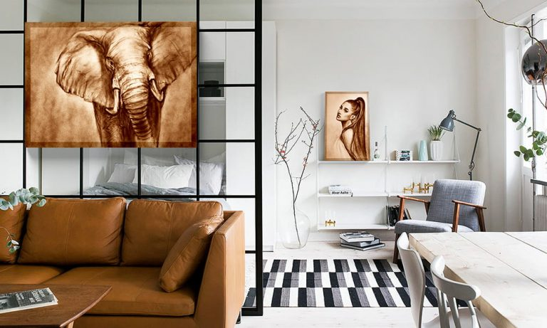 Wandbild horizontal